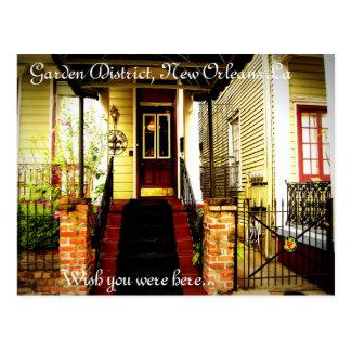 Garden District New Orleans La Post Cards