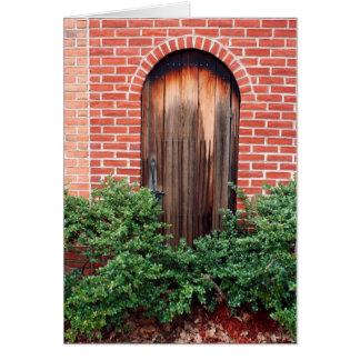 Garden Door Card