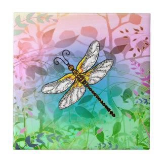 Garden Dragonfly Tile