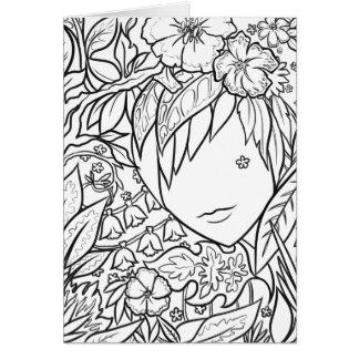 Garden Dryad Card