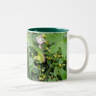 Garden elve Two-Tone coffee mug