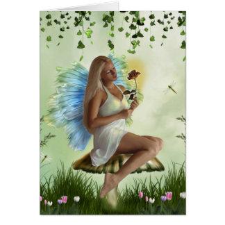 Garden Faery (Card) Card