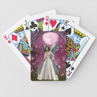 Garden Fairy Bicycle Playing Cards