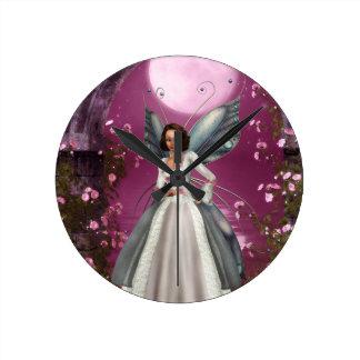 Garden Fairy Clock