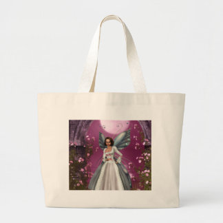 Garden Fairy Large Tote Bag