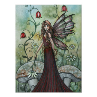 Garden Fairy Poster Print by Molly Harrison