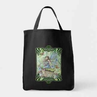Garden Fairy Tote Bag by Molly Harrison