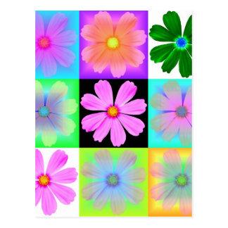 Garden Flower-9-postcard Postcard