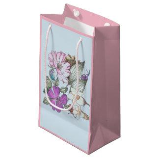 garden flower gift bag