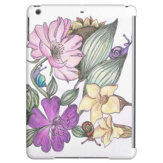 garden flowers i-pad air case case for iPad air