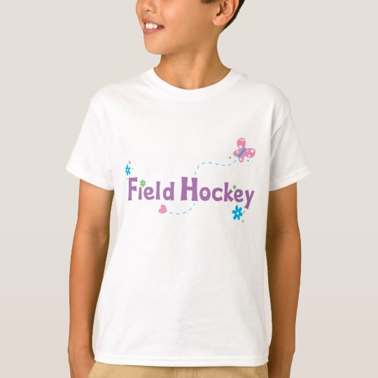 Garden Flutter Field Hockey T-Shirt