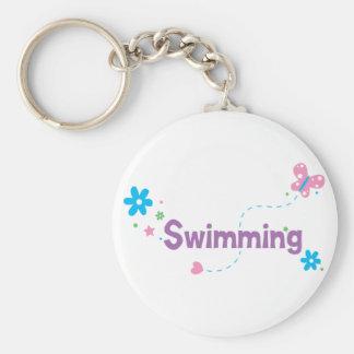 Garden Flutter Swimming Keychain