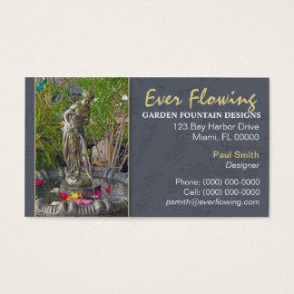 Garden Fountain Business Card