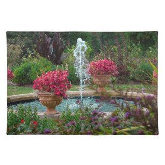 Garden Fountain Placemat