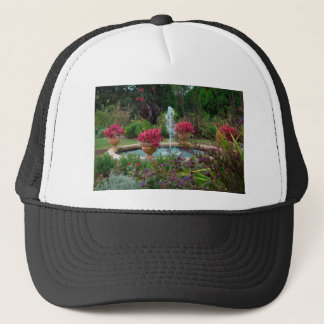 Garden Fountain Trucker Hat