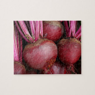 Garden Fresh Bunch of Beets Jigsaw Puzzle