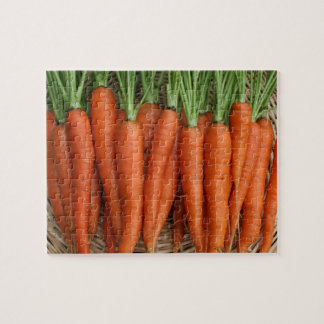 Garden Fresh Heirloom Carrots Jigsaw Puzzle