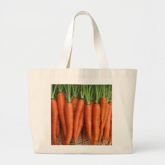 Garden Fresh Heirloom Carrots Large Tote Bag