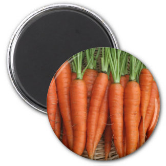 Garden Fresh Heirloom Carrots Magnet