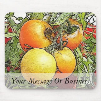 Garden Fresh Heirloom Tomatoes Mouse Pads