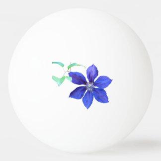 Garden Fresh Purple Clematis Flowers Ping-Pong Ball
