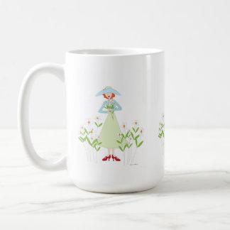 Garden Friendship flower mug
