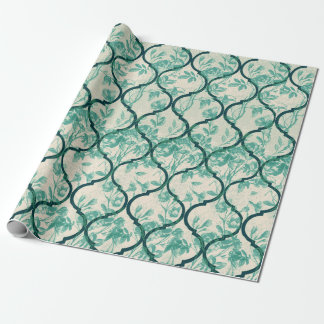 Garden Gate Scrolls and Vines Wrapping Paper