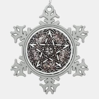 "Garden Gate ""Silver"" Snowflake Ornament"
