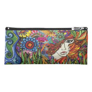 Garden Girl pencil case