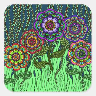 Garden Glow Sticker