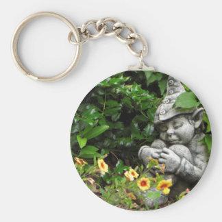 Garden Gnome Keychain
