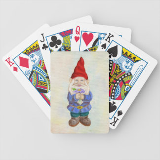Garden Gnome playing cards