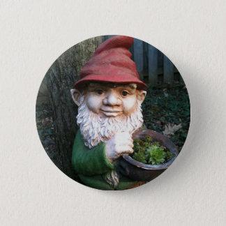Garden Gnomes 2 Inch Round Button