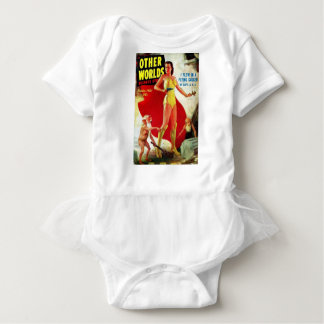 Garden Gnomes at the Beach Baby Bodysuit