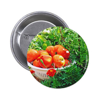 Garden Goodies 2 Inch Round Button