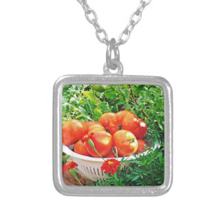 Garden Goodies Silver Plated Necklace