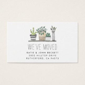 Garden Grown | Moving Announcement Insert Cards
