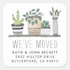 Garden Grown | Moving Announcement Stickers