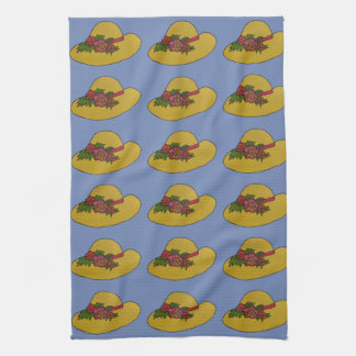 Garden Hat Kitchen Towel