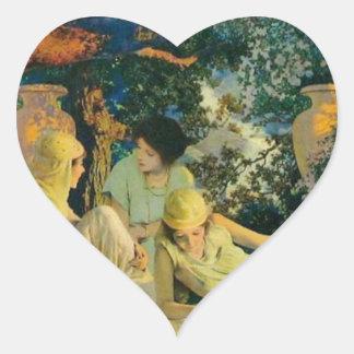 Garden Heart Sticker