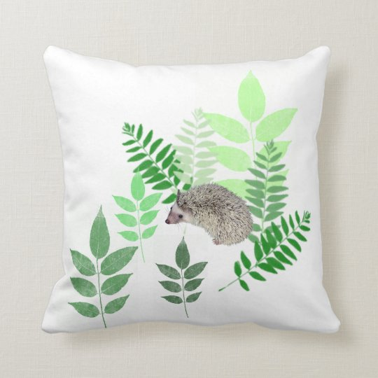 Garden Hedgehog Pillow