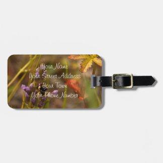 Garden HoneyBee; Customizable Luggage Tag