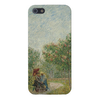 Garden in Montmartre with lovers Case For The iPhone 5