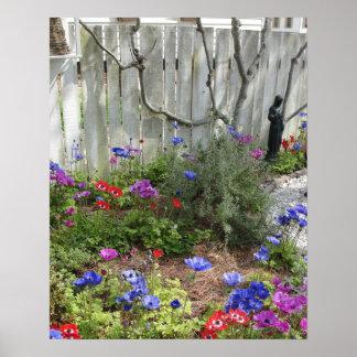Garden in Spring 1 Poster