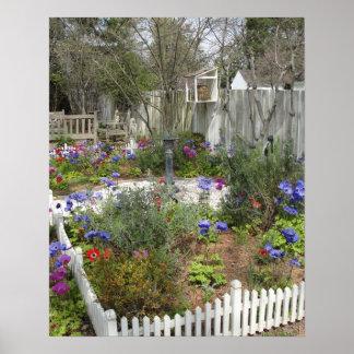 Garden in Spring 2 Poster