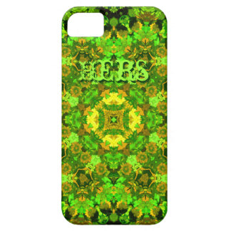 """""""Garden Inlay"""" cell-phone skin (""""Hers"""") iPhone 5 Case"""