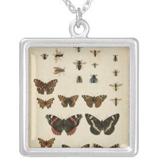 Garden Insects by Vision Studio Silver Plated Necklace