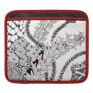 Garden-inspired iPad Sleeve