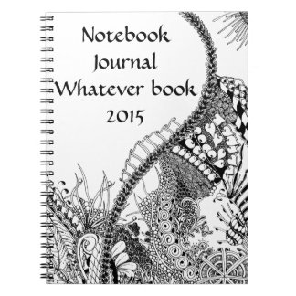 Garden-inspired Notebook