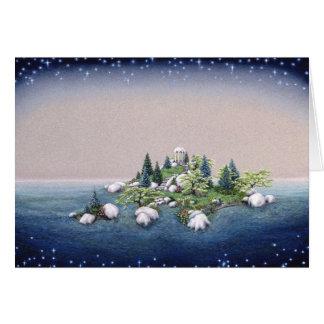 Garden Isle, by Darlene P. Coltrain Card